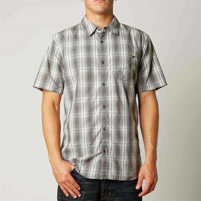 košile FOX - Foundation Woven Brown (103)