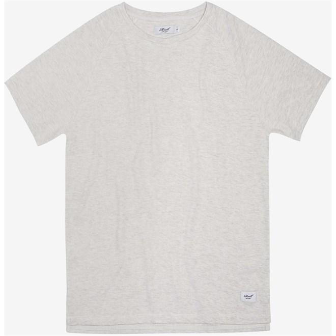 triko REELL - Raglan T-Shirt Off-White Melange (OFF-WHITE MELANGE)