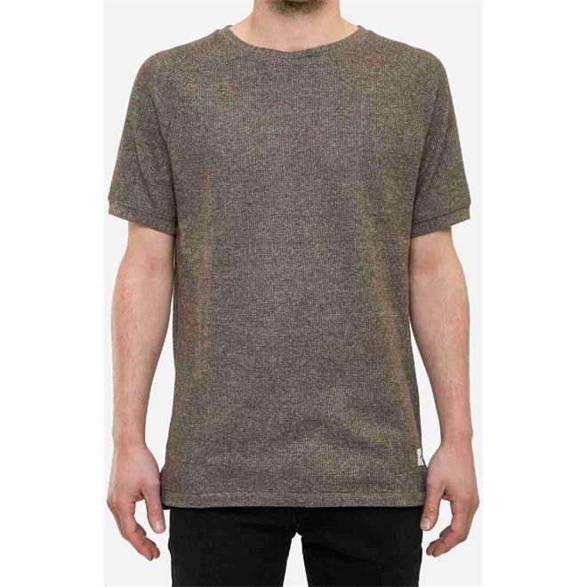 triko REELL - Raglan T-shirt Olive Melange (OLIVE MLG)