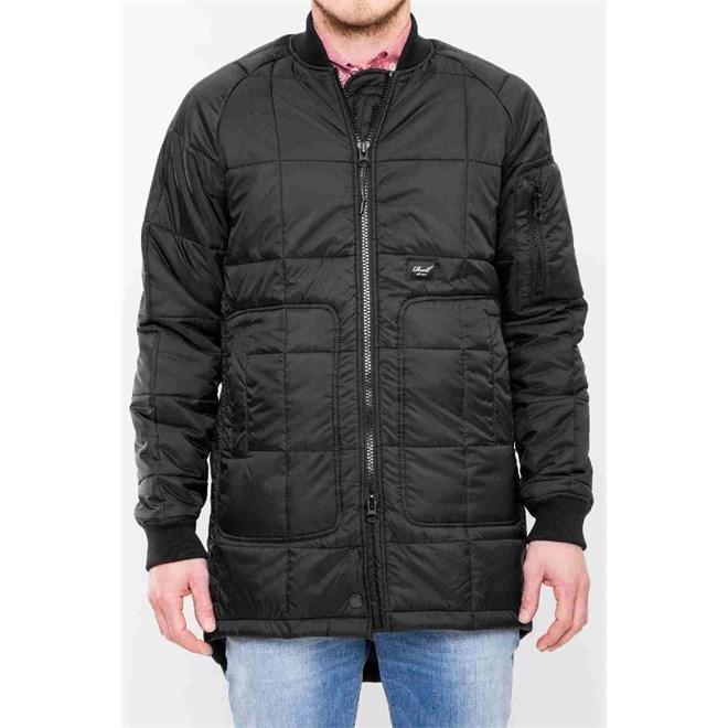 kabát REELL - Flight Coat Black Black (Black )