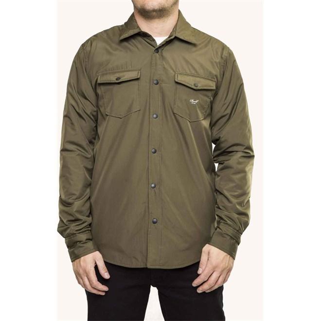 košile REELL - Padded Overshirt Olive (OLIVE)