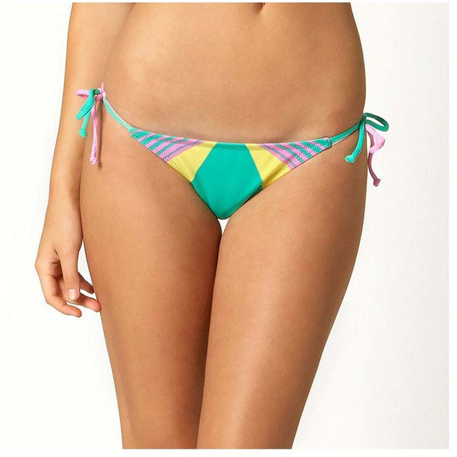 bikini FOX - Savant Side Tie Teal (176)