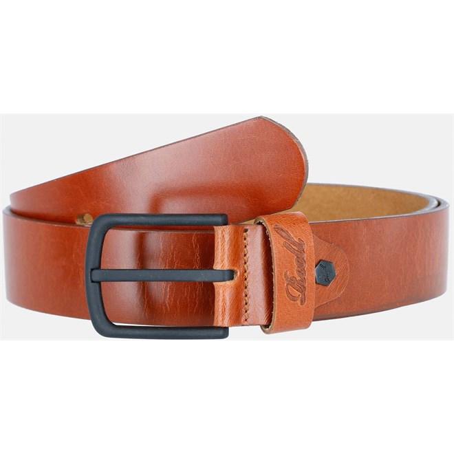 pásek REELL - All Black Buckle Belt Vintage Hazel (151)