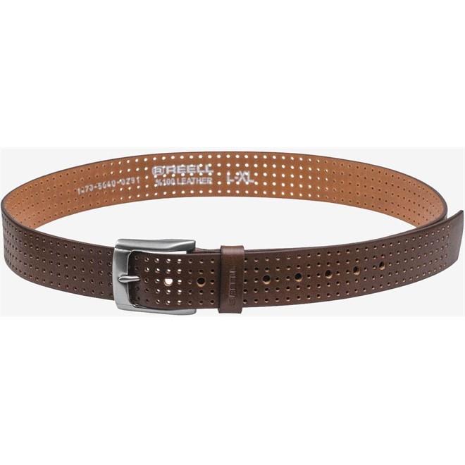 pásek REELL - Punched Belt Brown  (Brown )