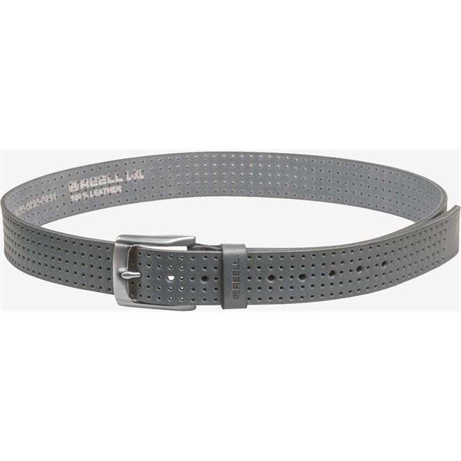 pásek REELL - Punched Belt Vintage Grey (VINTAGE GREY)