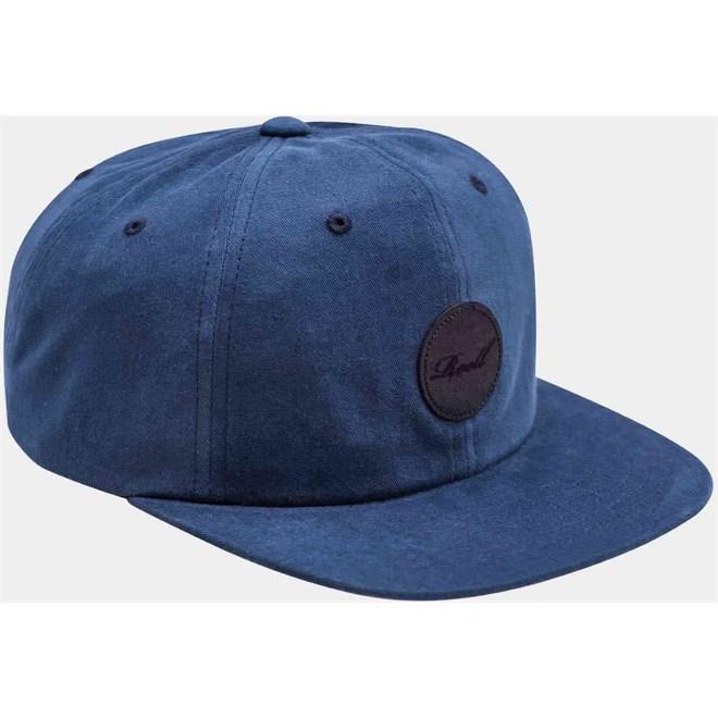 kšiltovka REELL - Flat 6-Panel Cap Blue (BLUE)