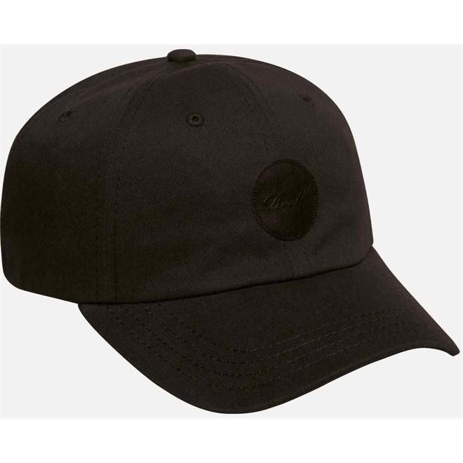 kšiltovka REELL - Dad Cap Cotton Twill Black (BLACK)