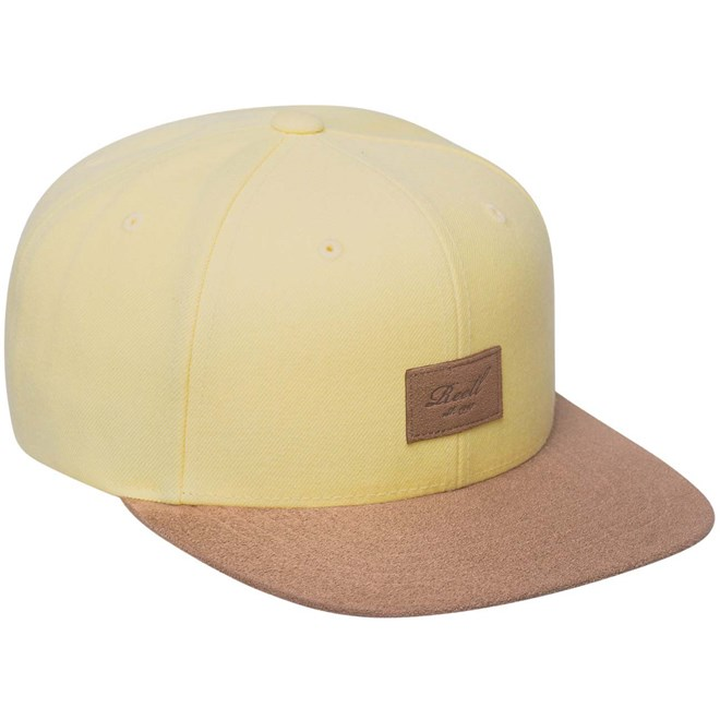 kšiltovka REELL - Suede Cap Light Yellow (170)