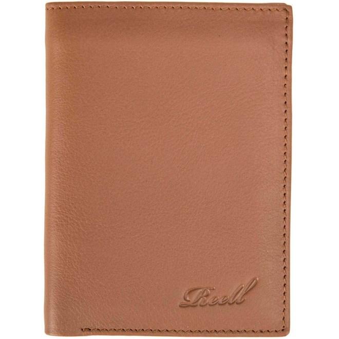 peněženka REELL - Trifold Leather Wallet Cognac (COGNAC)
