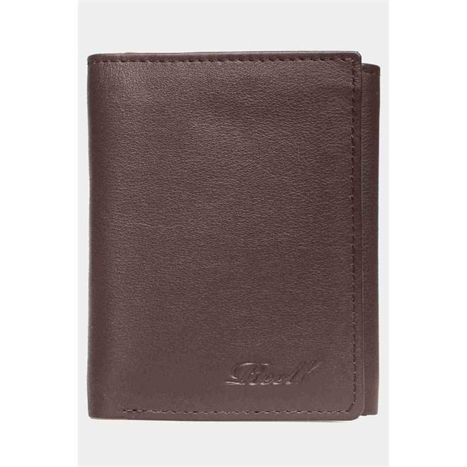peněženka REELL - Mini Trif. Leather Brown (BROWN)