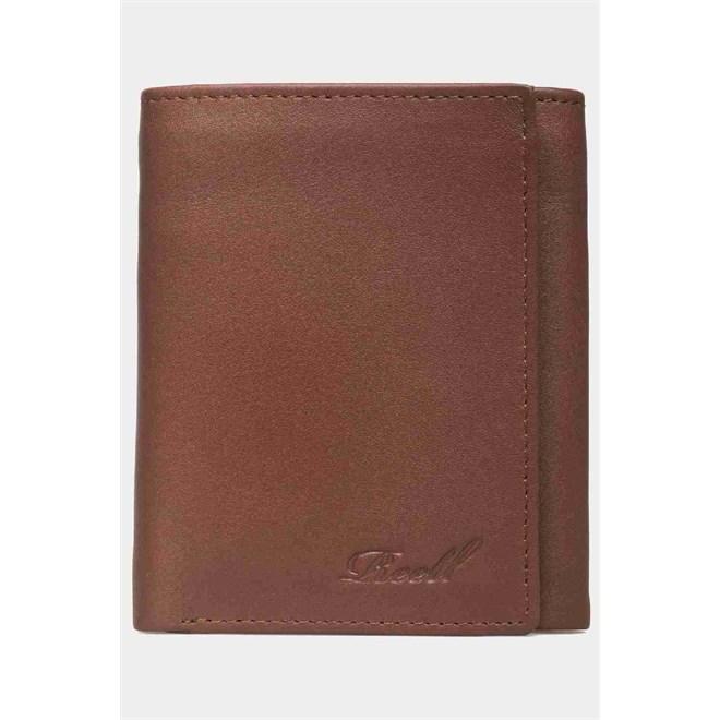 bbbacf44d92c6 portfel REELL - Mini Trif. Leather Tan (TAN)