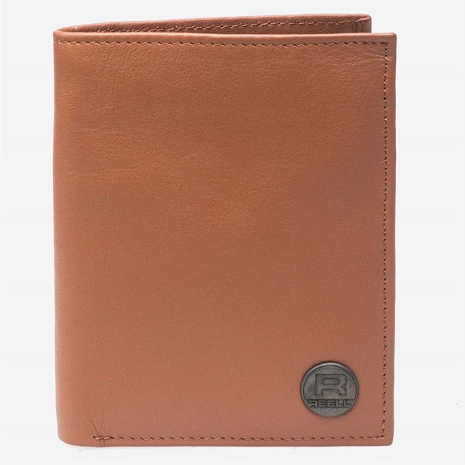 peněženka REELL - Clean Leather Cognac (COGNAC)