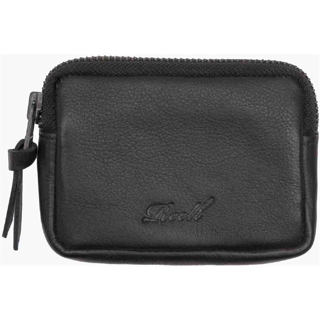 peněženka REELL - Pouch Leather Black (BLACK)