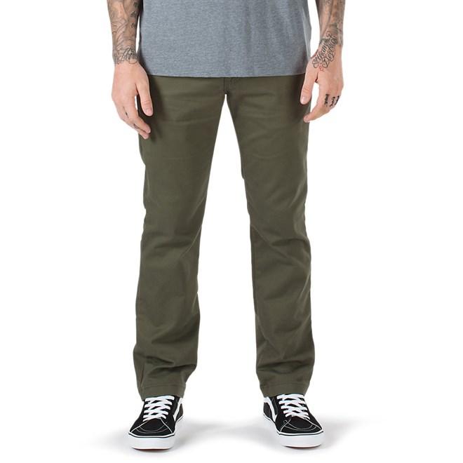 kalhoty VANS - Authentic Chino Stretch Grape Leaf (KCZ)