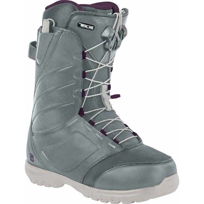 dámské snb boty NITRO - Cuda Tls Slate Grey - Purple (001)