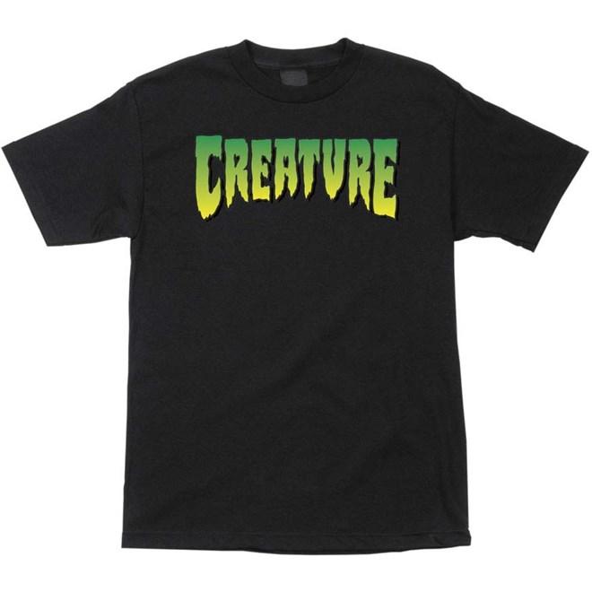 triko CREATURE - Logo Regular T-Shirt Black (7436)