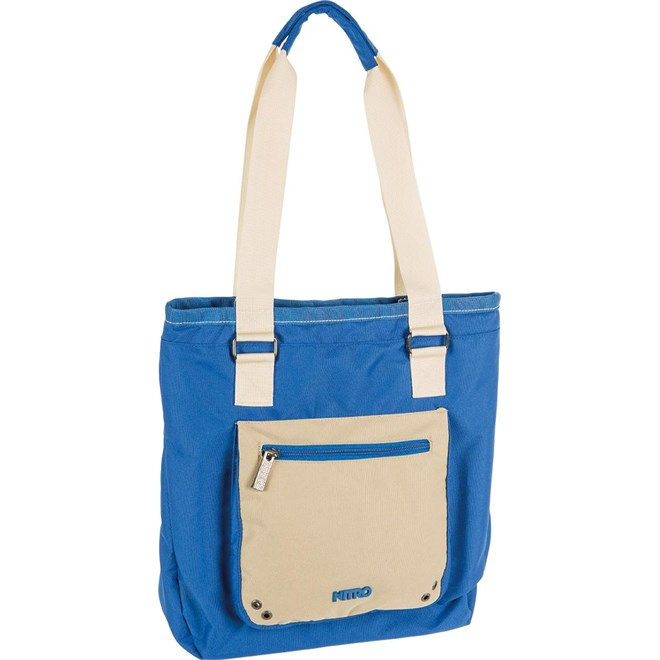 taška NITRO - Tote Bag Blue-Khaki (012)