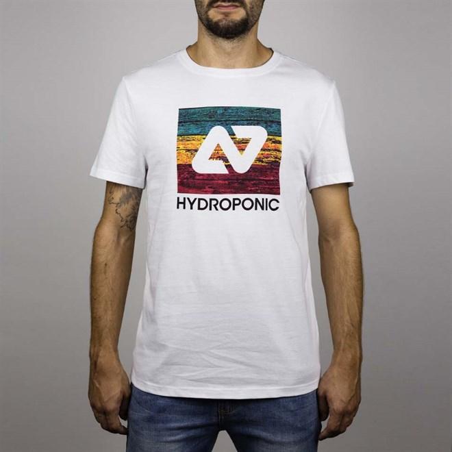 triko HYDROPONIC - Hy Rasta Board Ss White  (WHITE )