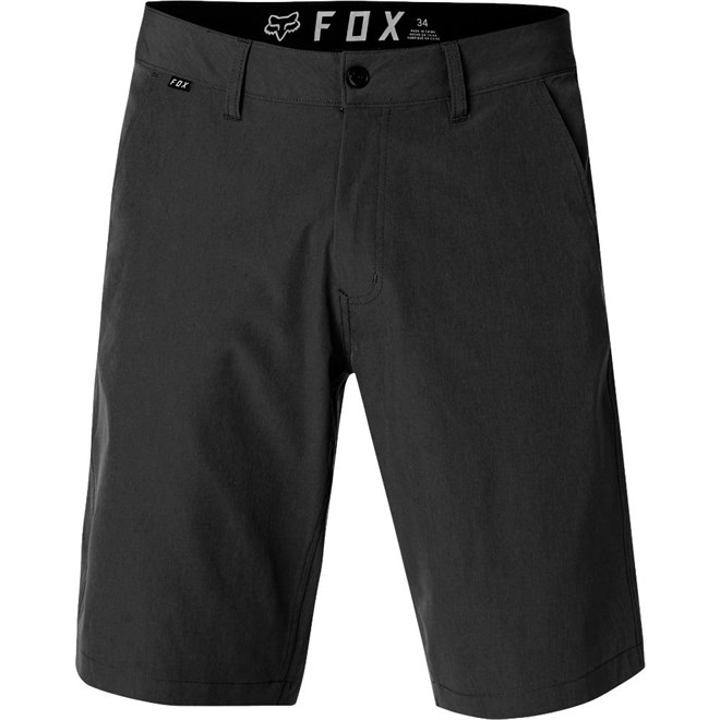 szorty FOX - Essex Tech Stretch Short Black (001)