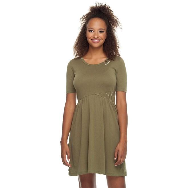 šaty RAGWEAR - Apolena Organic Olive (OLIVE)