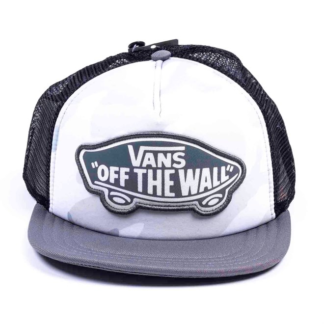 kšiltovka VANS - Beach Girl Trucker Hat Snow Camo (SHE)