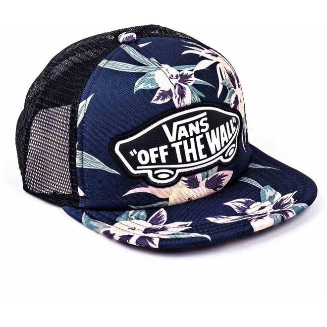 2258f68c195 Cap VANS - Beach Girl Trucker Hat Fall Tropics (O2K) | SNOWBITCH.DE