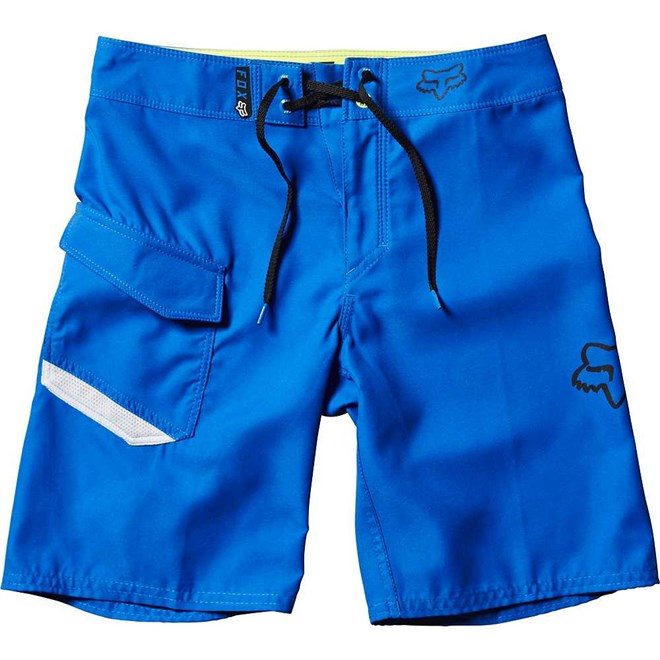 plavky FOX - Youth Overhead Boardshort True Blue (188)