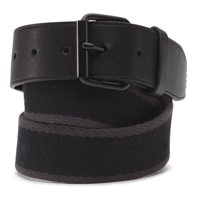 pásek VANS - Commander Ii Belt Black-Asphalt (KOU)