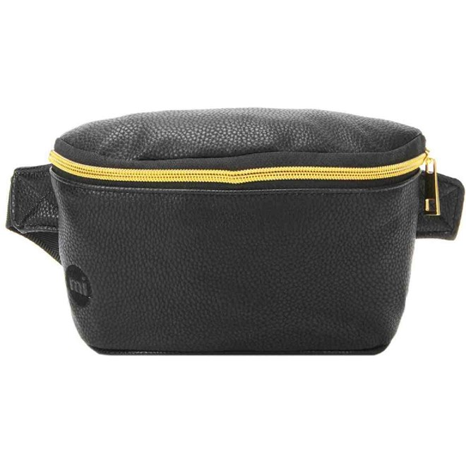 ledvinka MI-PAC - Bum Bag Tumbled Black (001)
