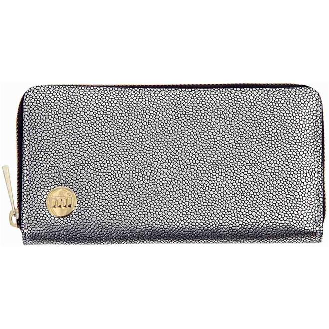 peněženka MI-PAC - Zip Purse  Glitter Silver (S48)