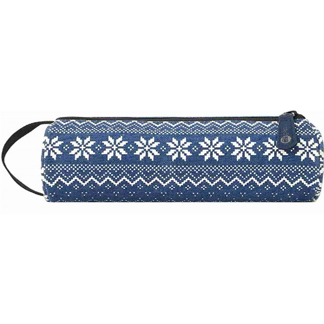penál MI-PAC - Pencil Case Fairisle Blue (264)