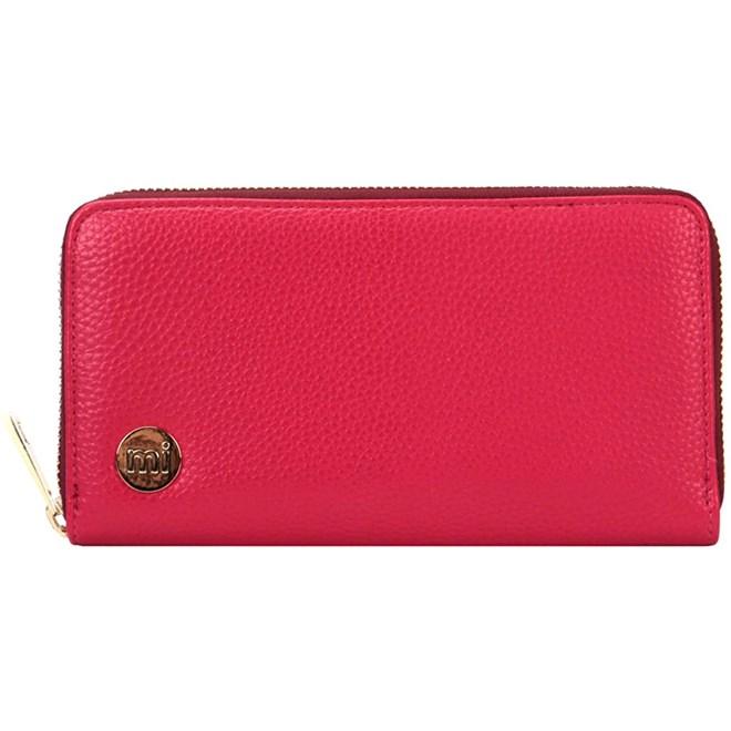 peněženka MI-PAC - Zip Purse Tumbled Fuchsia (S45)