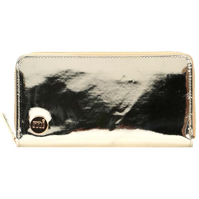 peněženka MI-PAC - Zip Purse  Mirror Gold (S47)