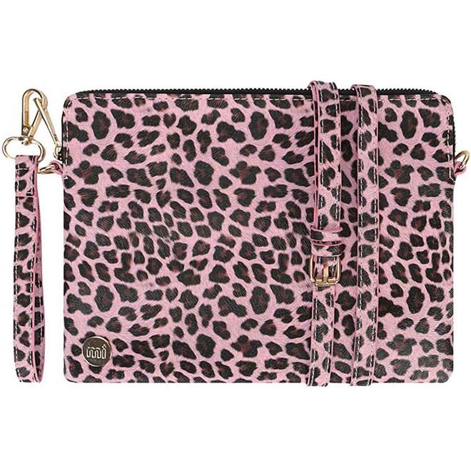 torebka MI-PAC - Gold Clutch Cheetah Pink (A06)