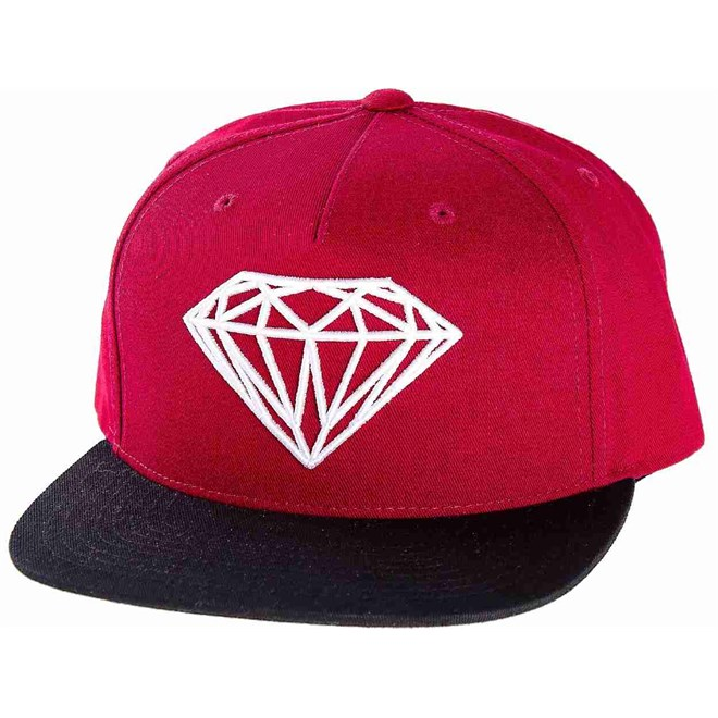 kšiltovka DIAMOND - OG Logo Burgundy Black (BUBK)