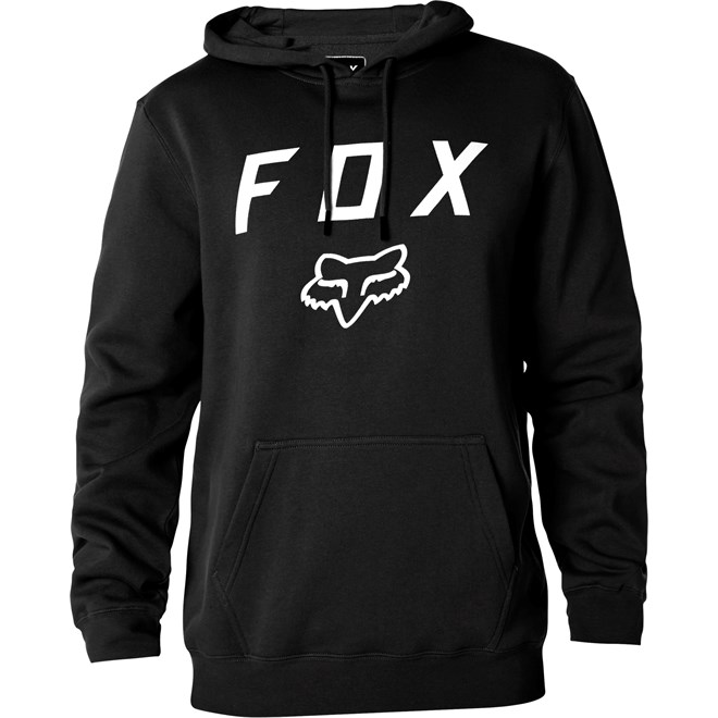 mikina FOX - Legacy Moth Po Fleece Black (001)