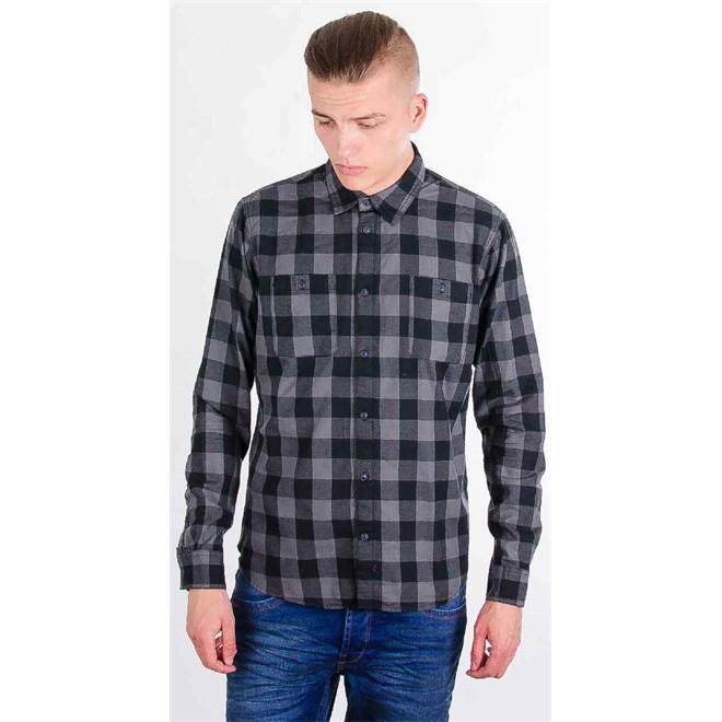 košile BLEND - Ass Castlerock Grey (75003)