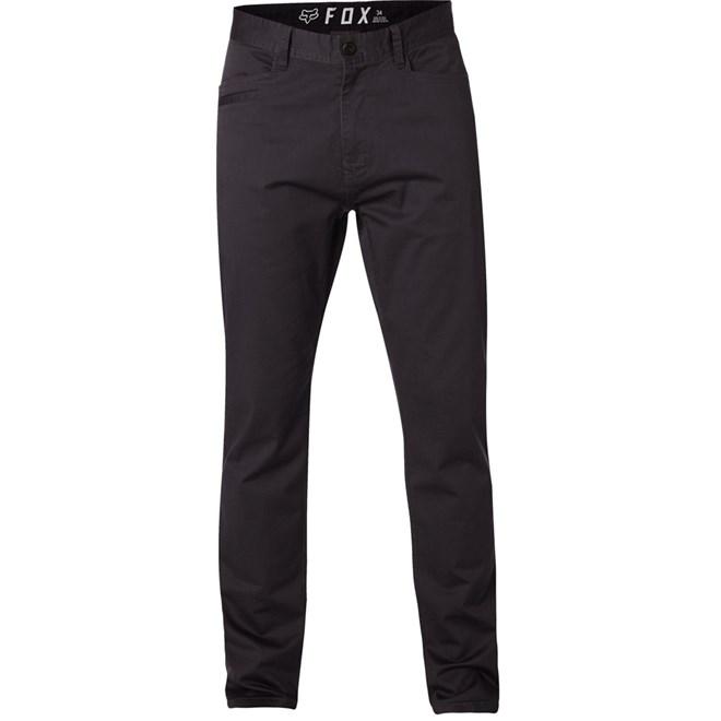 kalhoty FOX - Stretch Chino Pant Blk Vin (587)