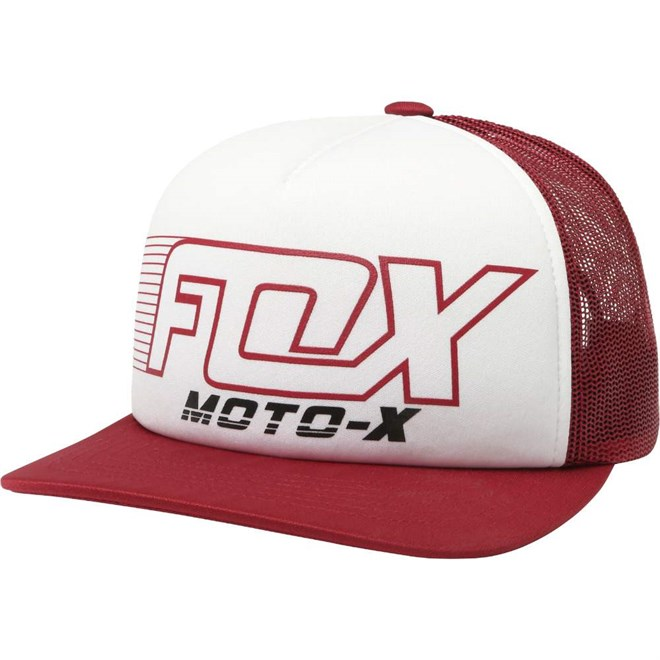 kšiltovka FOX - Throttle Maniac Trucker Dark Red (208)