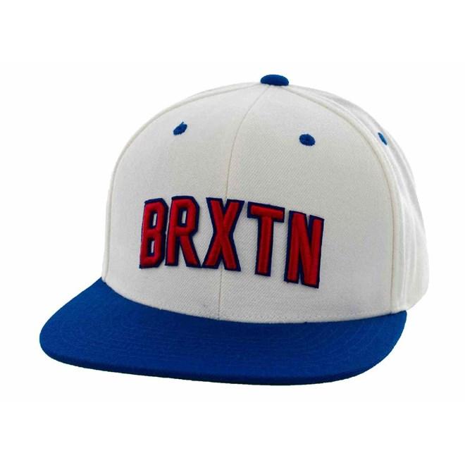 kšiltovka BRIXTON - Hamilton White/Blue (0224)