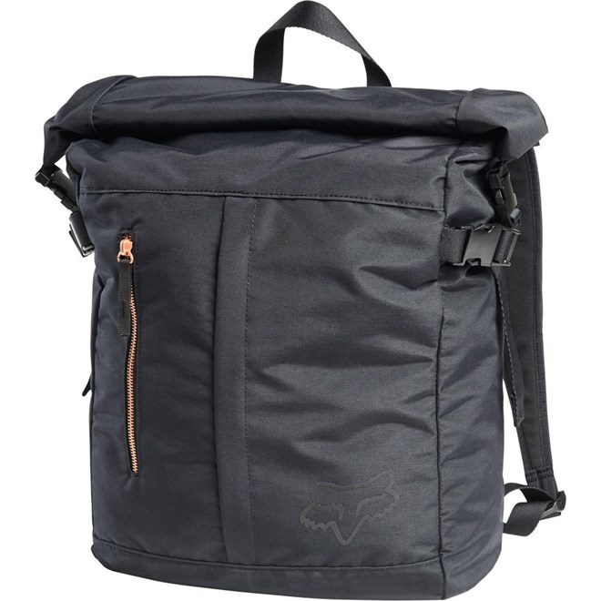 batoh FOX - Darkside Roll Top Backpack Blk (001)
