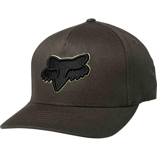 kšiltovka FOX - Epicycle Flexfit Hat Black Vintage (587)