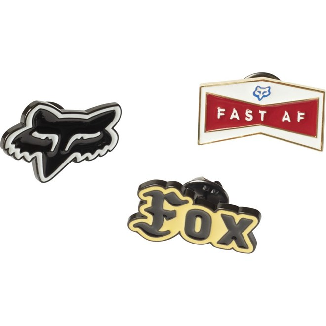 odznáček FOX - Flat Track Pin Pack Misc (582)