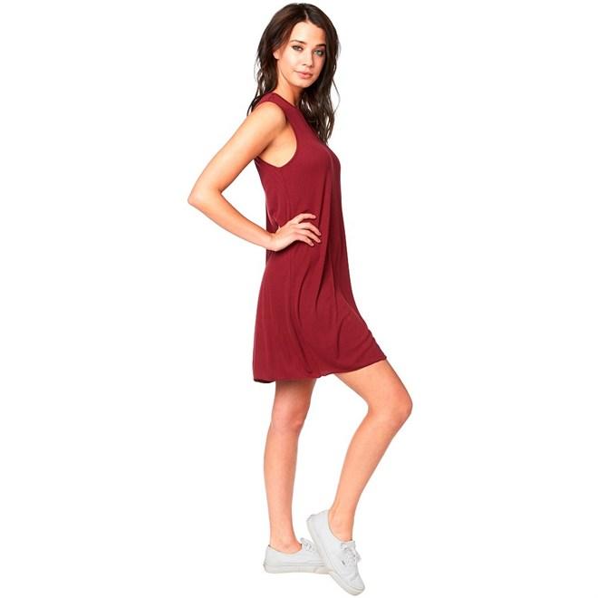 šaty FOX - Bay Meadow Dress Cranberry (527)  b3cd9c910e