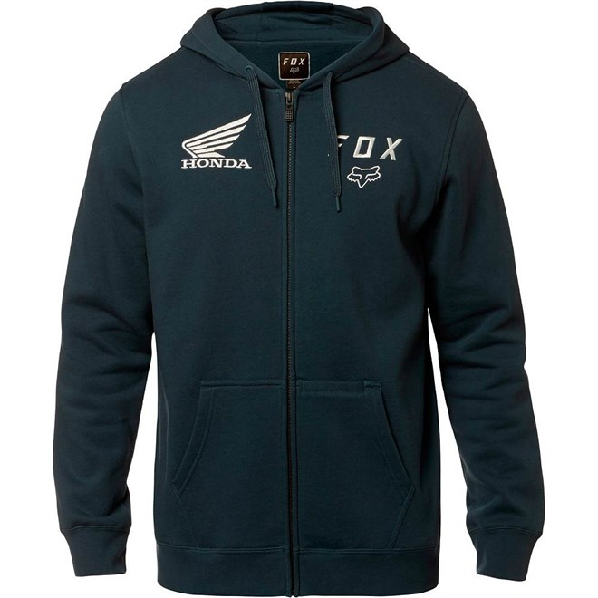 mikina FOX - Fox Honda Zip Fleece Navy (007)