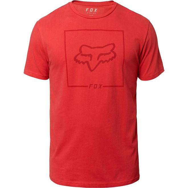 Tshirt FOX - Chapped Ss Airline Tee Rio Red (346)