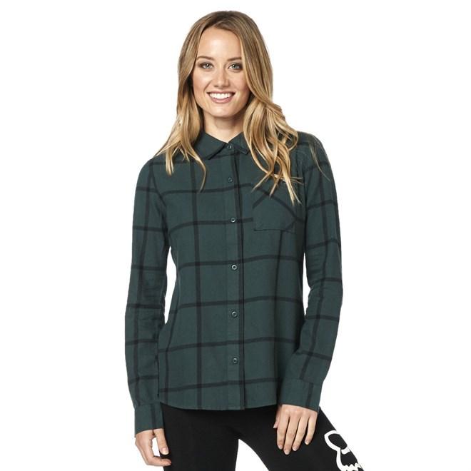 košile FOX - Roost Flannel Emerald (294)