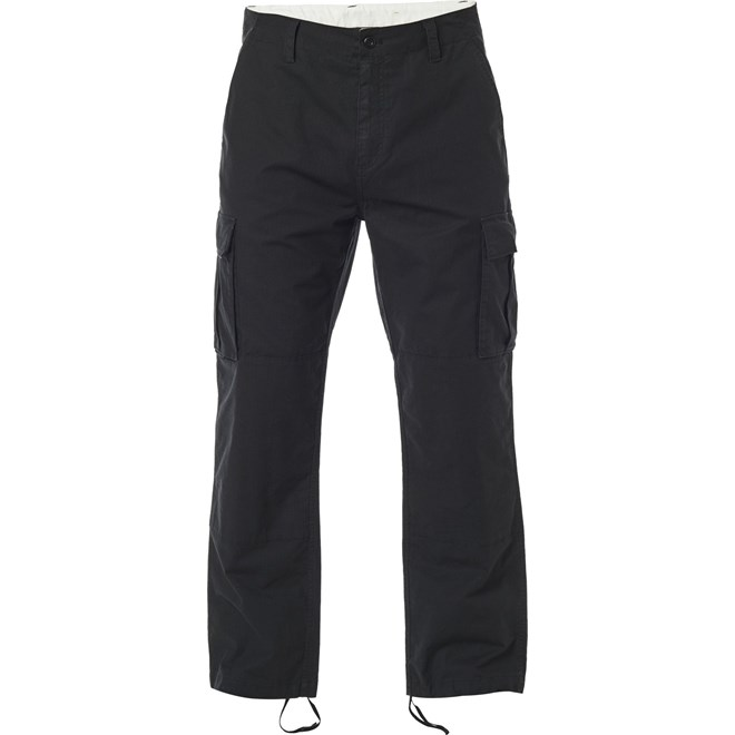 kalhoty FOX - Recon Stretch Cargo Pant Black (001)