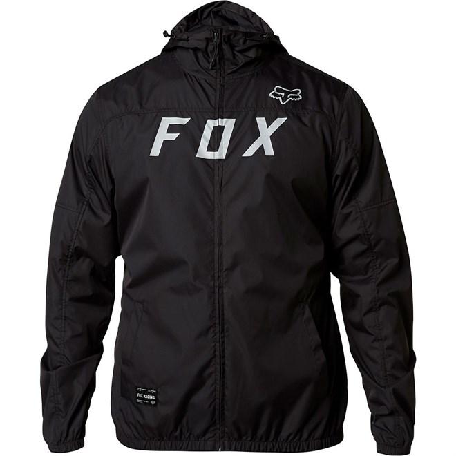 bunda FOX - Moth Windbreaker Black/Grey (014)