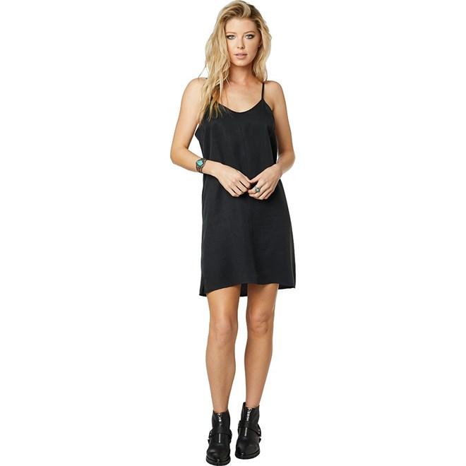 šaty FOX - Any Sunday Dress Black (001)